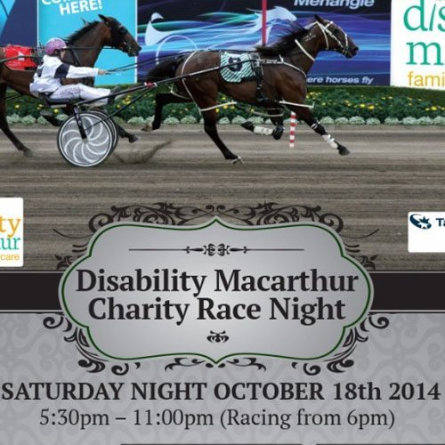 Disability Macarthur Charity Race Night