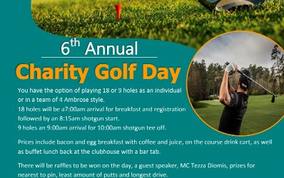 6th Annual Charity Golf Day